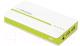 Портативное зарядное устройство Esperanza Atom 11000mAh (белый/зеленый) -