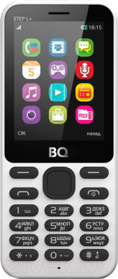 Мобильный телефон BQ Step L+ BQ-2431 (белый)