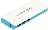 Портативное зарядное устройство Esperanza Radium ESP-054448 (белый/синий) -