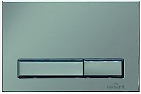 Кнопка для инсталляции Cersanit Geometry M07 S-BU-GMT/Cm (хром матовый) -