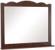 Зеркало для ванной Аква Родос Классик 100 (орех итальянский) -