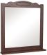 Зеркало для ванной Аква Родос Классик 80 (орех итальянский) -