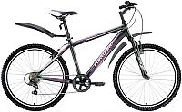Велосипед Forward Flash 2.0 2017 / RBKW7MN66006 (15.5, черный матовый) -