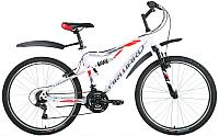 Велосипед Forward Raptor 1.0 2017 / RBKW7SN6Q007 (18, белый) -