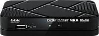 Тюнер цифрового телевидения BBK SMP023HDT2 (черный) -