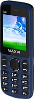 Мобильный телефон Maxvi C22 (маренго/черный) -