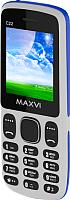 Мобильный телефон Maxvi C22 (белый/голубой) -