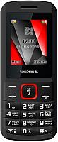 Мобильный телефон TeXet TM-127 (черный/красный) -