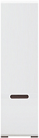 Шкаф-пенал Black Red White Azteca S205-SZF1D/21/6 (белый/белый блеск) -