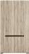 Шкаф Black Red White Azteca S205-SZF2D/21/11 (белый/дуб санремо) -
