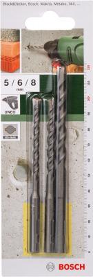 Набор сверл Bosch 2.609.256.908 (3 предмета) - общий вид