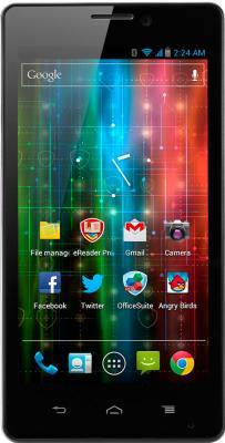 Смартфон Prestigio MultiPhone PAP5430 Black - вид спереди