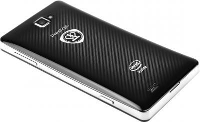Смартфон Prestigio MultiPhone PAP5430 Black - вид лежа