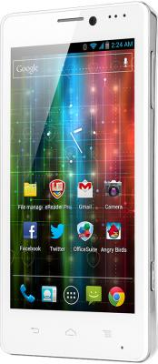 Смартфон Prestigio MultiPhone 5430 (белый) - вполоборота