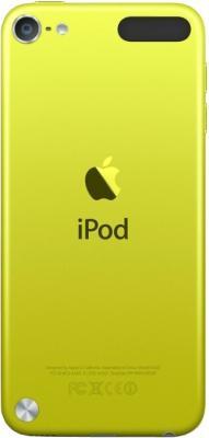 MP3-плеер Apple iPod touch 64Gb MD715RP/A (желтый) - вид сзади