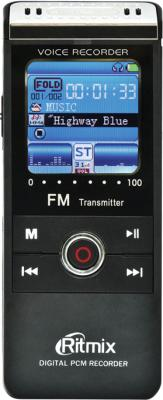 Цифровой диктофон Ritmix RR-960 2Gb Black - общий вид