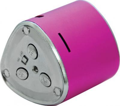 Портативная колонка Ritmix SP-060 Pink - вид сзади