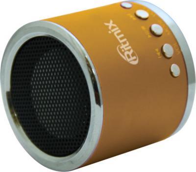 Портативная колонка Ritmix SP-090 Gold - динамик