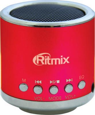 Портативная колонка Ritmix SP-090 Red - общий вид