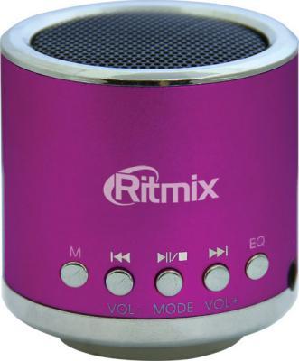 Портативная колонка Ritmix SP-090 Pink - общий вид