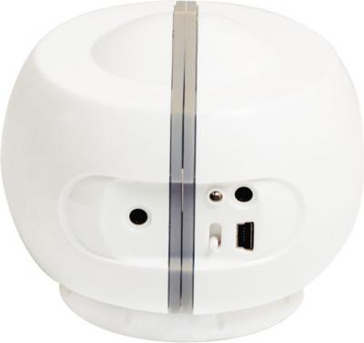 Мультимедиа акустика Ritmix SP-2011B (белый) - вид сзади