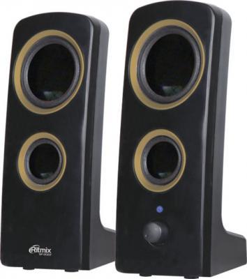 Мультимедиа акустика Ritmix SP-2022 Gold - общий вид