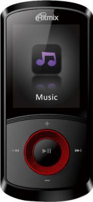 MP3-плеер Ritmix RF-4700 (4GB, красный) - общий вид