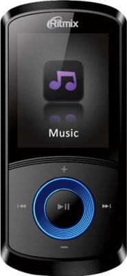 MP3-плеер Ritmix RF-4700 (4Gb, синий) - общий вид