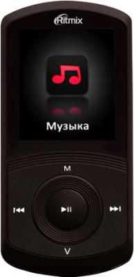 MP3-плеер Ritmix RF-4700 (4GB, черный) - общий вид