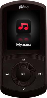 MP3-плеер Ritmix RF-4700 (8GB, черный) - общий вид