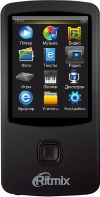 MP3-плеер Ritmix RF-7100 (4GB, черный) - общий вид
