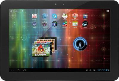 Планшет Prestigio MultiPad 10.1 Ultimate (PMP7100D_DUO) - фронтальный вид