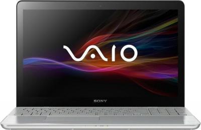 Ноутбук Sony Vaio SVF15A1S2RS - фронтальный вид