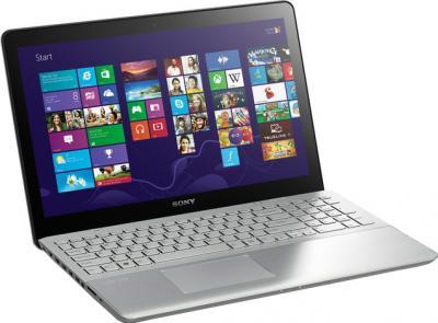 Ноутбук Sony Vaio SVF15A1S2RS - общий вид