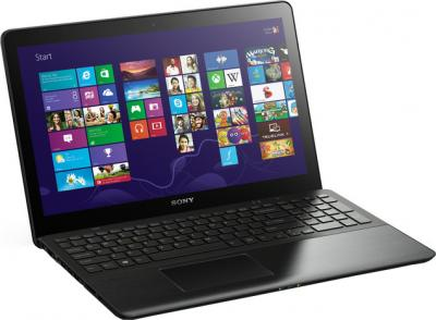 Ноутбук Sony Vaio SVF15A1S9RB - общий вид