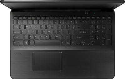 Ноутбук Sony Vaio SVF15A1S9RB - вид сверху