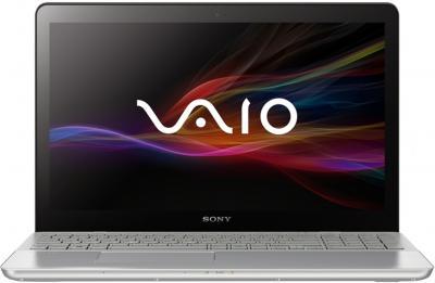 Ноутбук Sony Vaio SVF15A1Z2RS - фронтальный вид