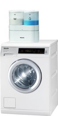 Дозатор для стиральной машины Miele AWD10 - общий вид со стиральной машиной  Miele 5000 WPS Supertronic