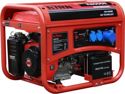 Бензиновый генератор Kirk K8000E - общий вид