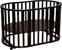Детская кровать-трансформер Антел Северянка-3/1 (шоколад) -