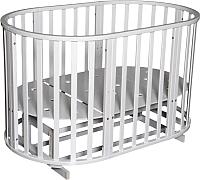 Детская кровать-трансформер Антел Северянка-3 (белый) -