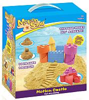 Кинетический песок Motion Sand MS-01 (2кг, с песочницой и формочками) -