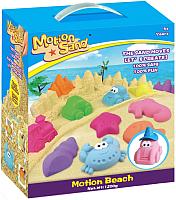 Кинетический песок Motion Sand MS-02 (1.2кг, с песочницей и формочками) -