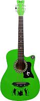 Акустическая гитара Jervis JG-382C/GBS (салатовый) -