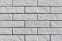 Декоративный камень Baastone Кирпич Варшавский белый 101 (240x63x7-9) -
