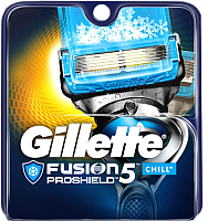 Сменные кассеты Gillette Fusion Proshield Chill (2шт) -
