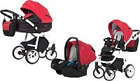 Детская универсальная коляска Expander Macco 3 в 1 (04/scarlet) -