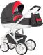 Детская универсальная коляска Riko Vanguard 3 в 1 (01/scarlet) -