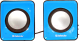 Мультимедиа акустика Defender SPK 22 / 65501 (синий) -