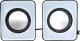 Мультимедиа акустика Defender SPK 22 / 65504 (серый) -